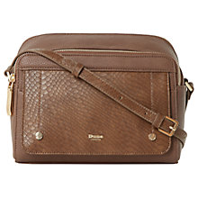 Buy Dune Darlling Cross Body Bag, Brown Online at johnlewis.com