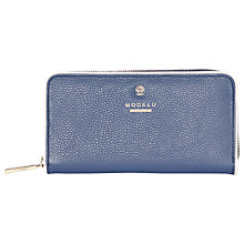 Buy Modalu Pippa Leather Zip Around Purse Online at johnlewis.com