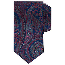Buy Ted Baker Cipo Paisley Pattern Silk Tie, Blue Online at johnlewis.com