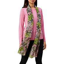 Buy Hobbs Silk Georgie Scarf, Blossom Pink Online at johnlewis.com