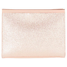 Buy Coast Saira Clutch Bag, Rose Gold Online at johnlewis.com