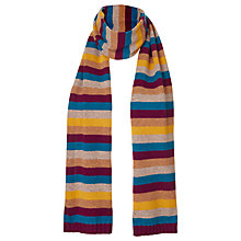 Buy Winser London Yasmin Le Bon Cashmere Stripe Scarf, Multi Online at johnlewis.com