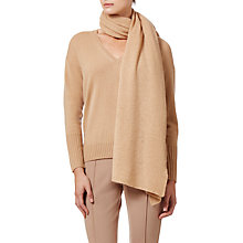 Buy Winser London Cashmere Wrap, Soft Camel Online at johnlewis.com