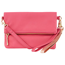 Buy Oasis Lexi Leather Clutch Bag Online at johnlewis.com