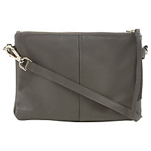 Buy Oasis Dolly Cross Body, Mid Grey Online at johnlewis.com