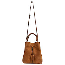 Buy Gerard Darel Le Sazo Leather Bucket Bag Online at johnlewis.com