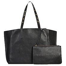 Buy Gerard Darel Studded Tote Bag, Black Online at johnlewis.com