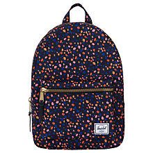 Buy Herschel Supply Co. Grove Backpack, Black Floral Online at johnlewis.com
