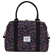 Buy Herschel Supply Co. Strand Holdall, Black Floral Online at johnlewis.com