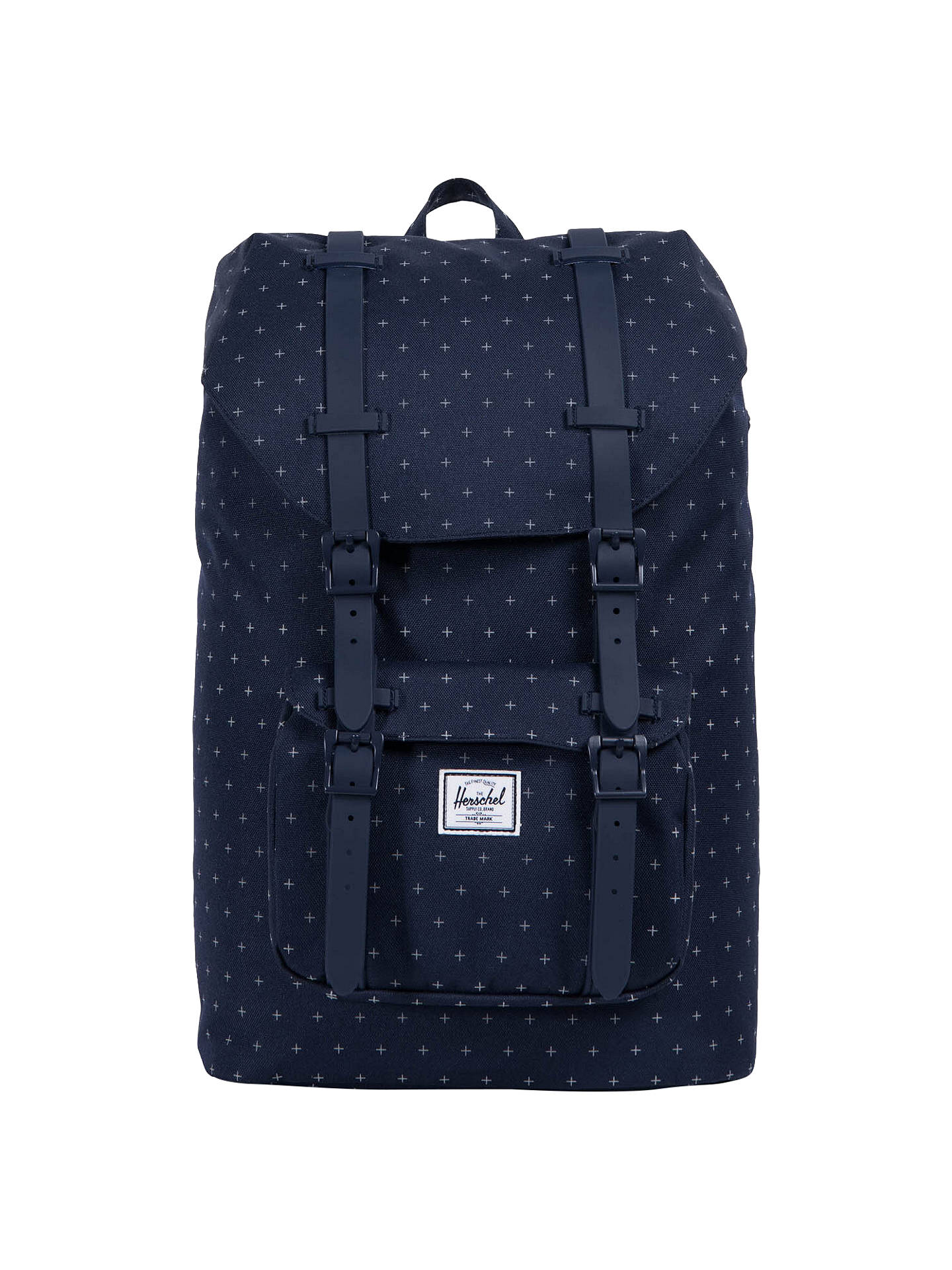6b2617ff2 Buy Herschel Supply Co. Little America Mid-Volume Backpack, Peacoat Grid  Online at ...
