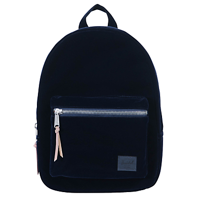 Product photo of Herschel supply co velvet grove backpack peacoat
