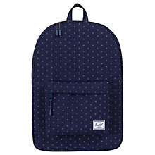Buy Herschel Supply Co. Classic Backpack, Peacoat Gridlock Online at johnlewis.com
