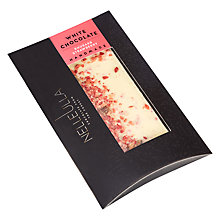 Buy Nelleulla Rhubard and Strawberry White Chocolate Bar, 80g Online at johnlewis.com
