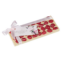 Buy Nelleulla Berry Love Raspberry White Chocolate Bar, 150g Online at johnlewis.com