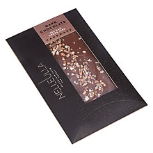Buy Nelleulla Sea Salt Cocoa Nibs Dark Chocolate Bar, 80g Online at johnlewis.com