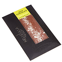 Buy Nelleulla Lemon Sea Salt Milk Chocolate Bar, 80g Online at johnlewis.com