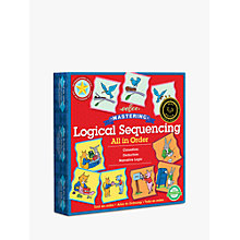 Buy Eeboo All In Order Puzzle Game Online at johnlewis.com