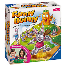 Buy Ravensburger Funny Bunny Game Online at johnlewis.com