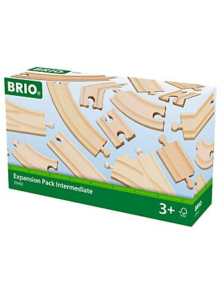 Brio World Railway Track Expansion Pack, Intermediate