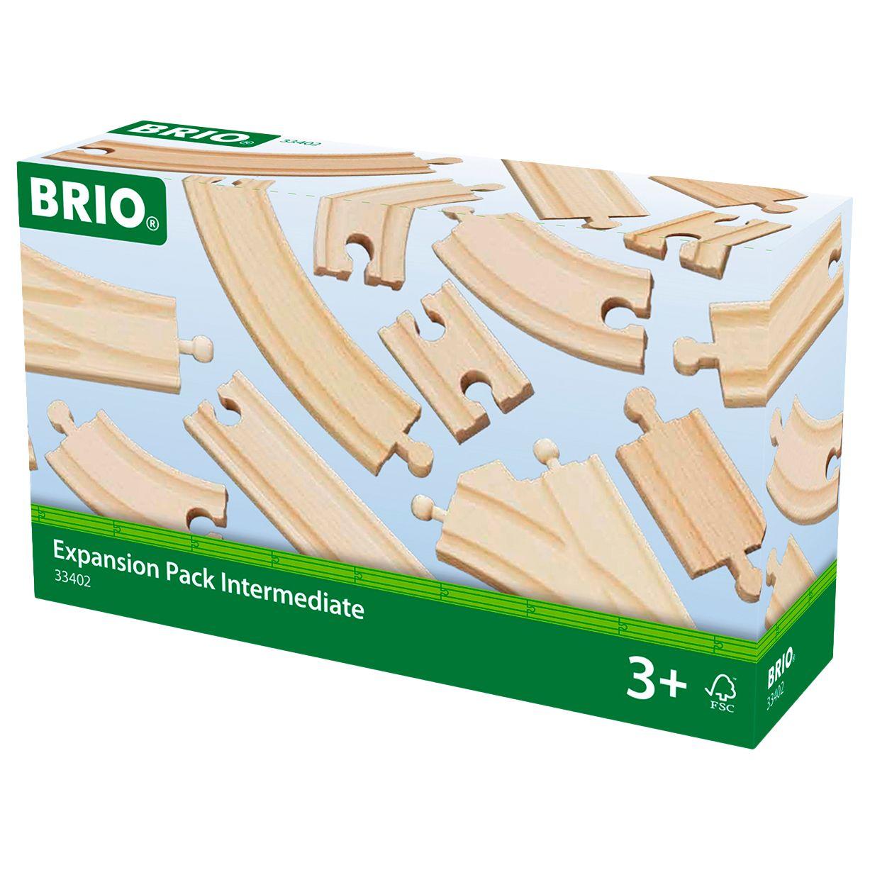 BRIO BRIO World Railway Track Expansion Pack, Intermediate