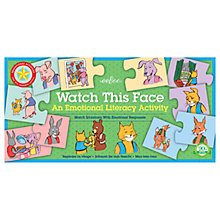 Buy Eeboo Watch This Face Puzzle Game Online at johnlewis.com