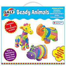 Buy Galt Beady Animals Kit Online at johnlewis.com