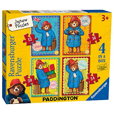 Ravensburger Paddington Bear Jigsaw Puzzle, Pack of 4