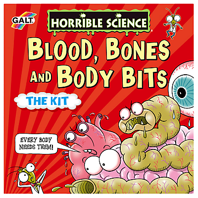 Image of Horrible Science Blood Bones And Body Bits The Kit