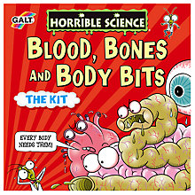 Buy Galt Horrible Science Blood Bones And Body Bits The Kit Online at johnlewis.com