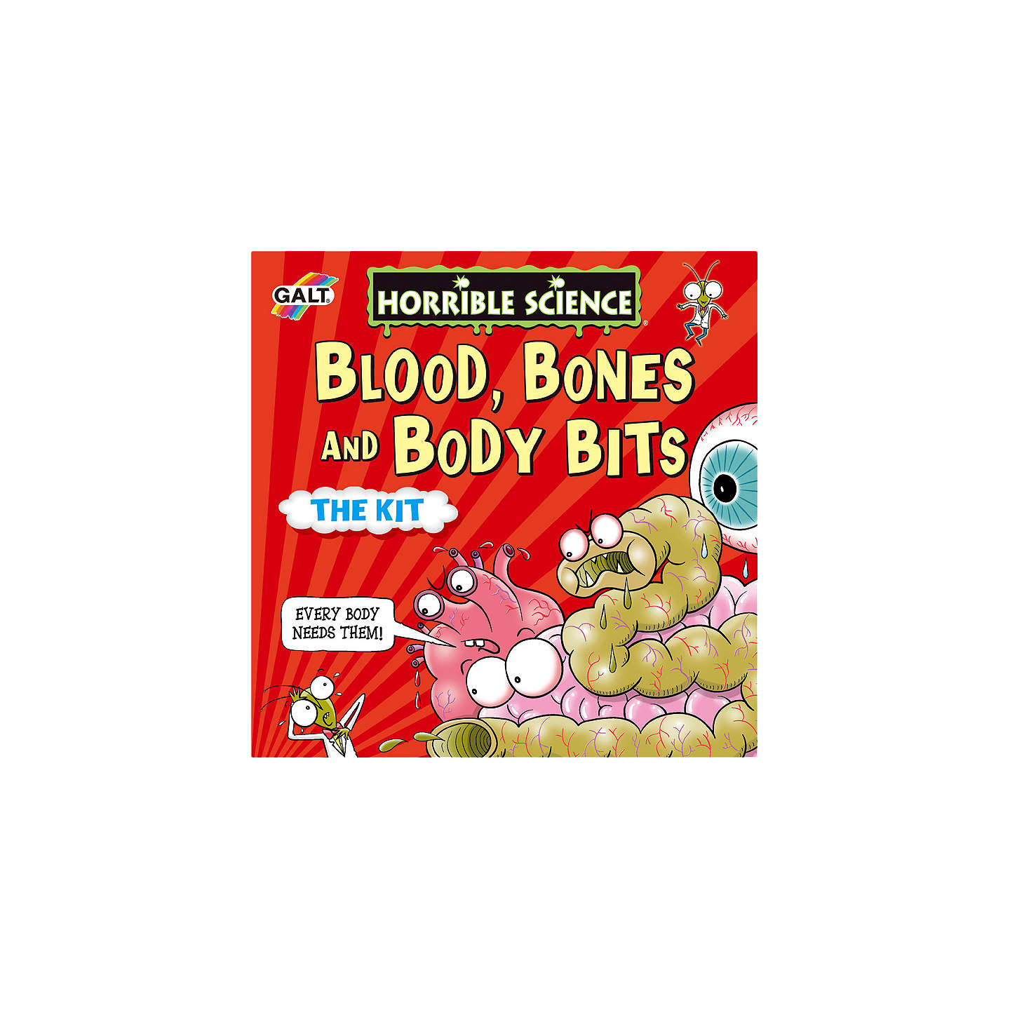 BuyGalt Horrible Science Blood Bones And Body Bits The Kit Online at johnlewis.com