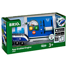 Buy Brio App Enabled Remote Control Train Engine Online at johnlewis.com