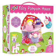 Buy Galt Fairy Pompom House Kit Online at johnlewis.com