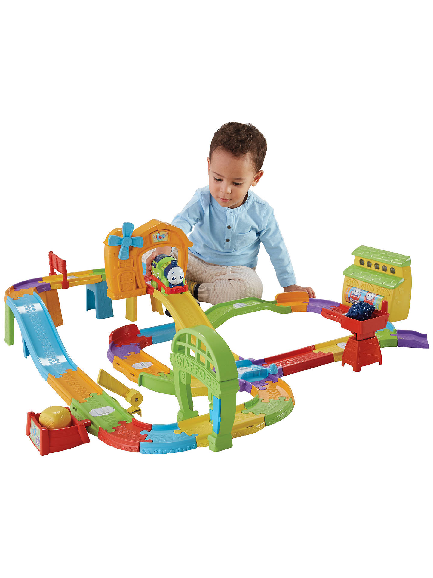 BuyMy First Thomas & Friends Destination Discovery Interactive Train Set Online at johnlewis.com
