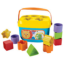 Buy Fisher-Price Baby's First Blocks Online at johnlewis.com
