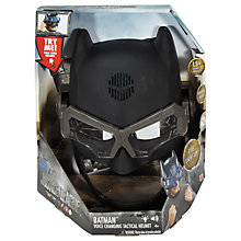 Buy Batman Voice Changing Tactical Helmet Online at johnlewis.com