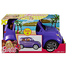 Buy Barbie SUV Mini Van Online at johnlewis.com