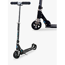 Buy Micro Rocket Scooter, Adult, Black Online at johnlewis.com