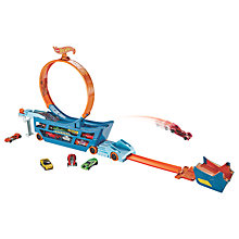 Buy Hot Wheels Stunt & Go Truck Playset Online at johnlewis.com