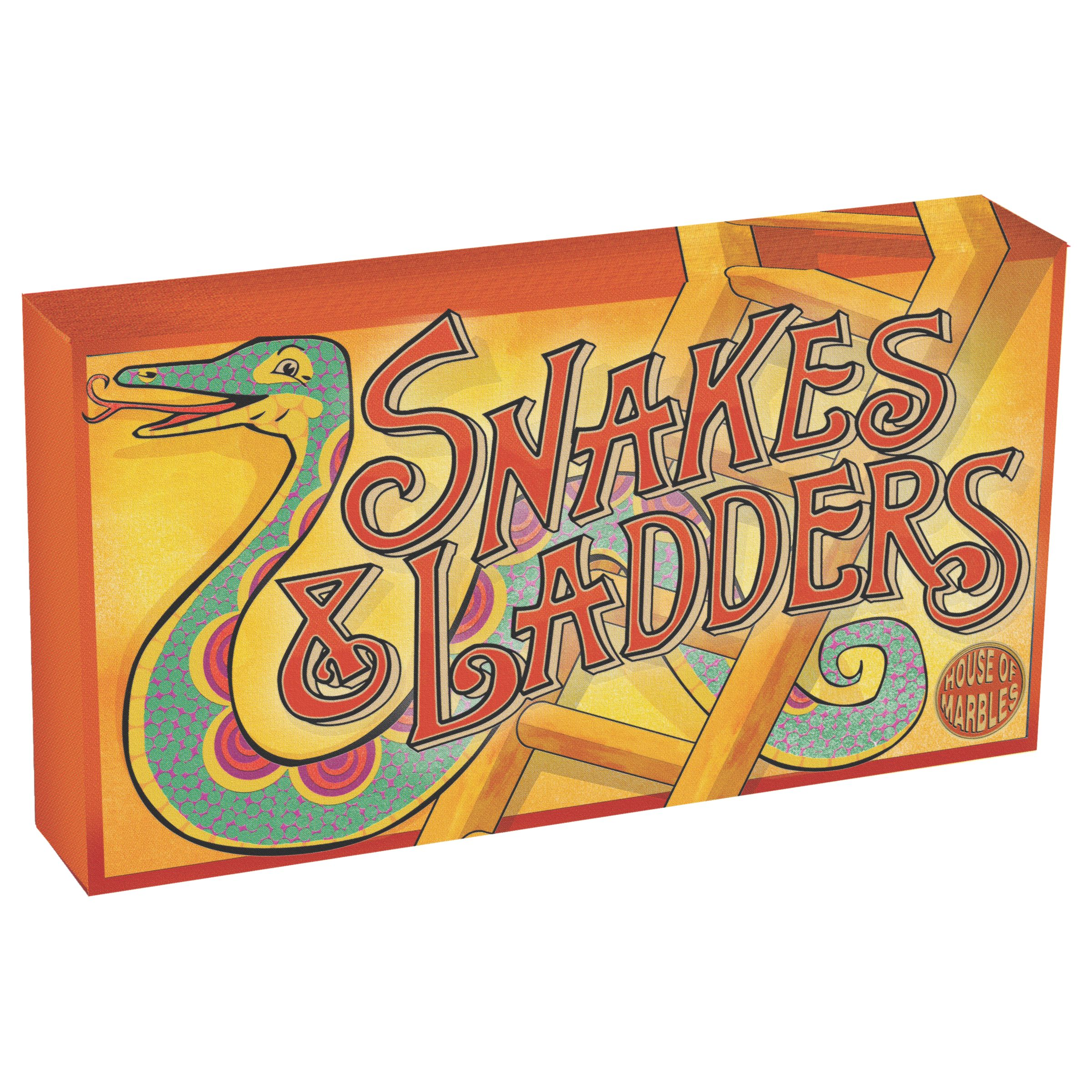 House of Marbles House of Marbles Snakes and Ladders Vintage Style Board Game