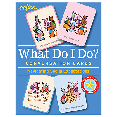 Image of Eeboo What Do I Do Conversation Cards