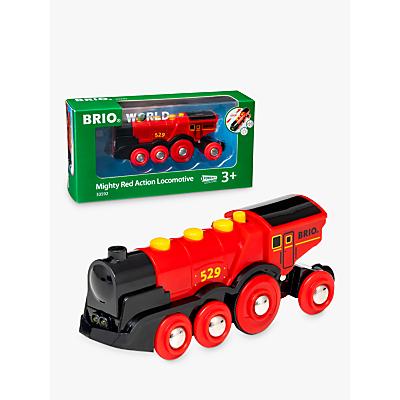 Brio World Mighty Red Action Locomotive