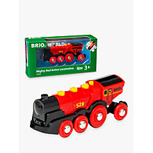 Buy Brio Mighty Red Action Locomotive Online at johnlewis.com
