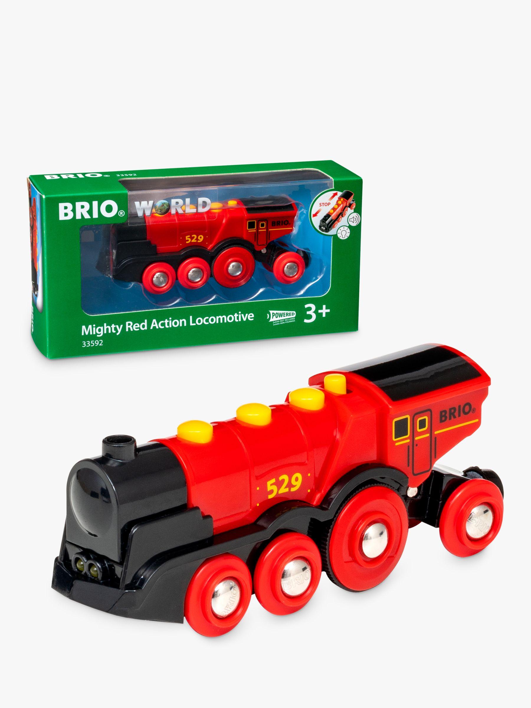 BRIO BRIO World Mighty Red Action Locomotive