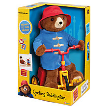 Buy Paddington Bear Cycling Paddington Online at johnlewis.com