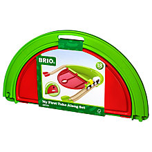 Buy Brio My First Take Along Train Set Online at johnlewis.com