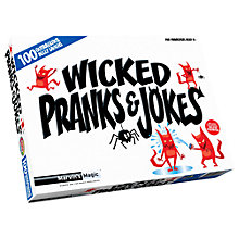 Buy Marvin's Magic Wicked Pranks And Jokes Online at johnlewis.com