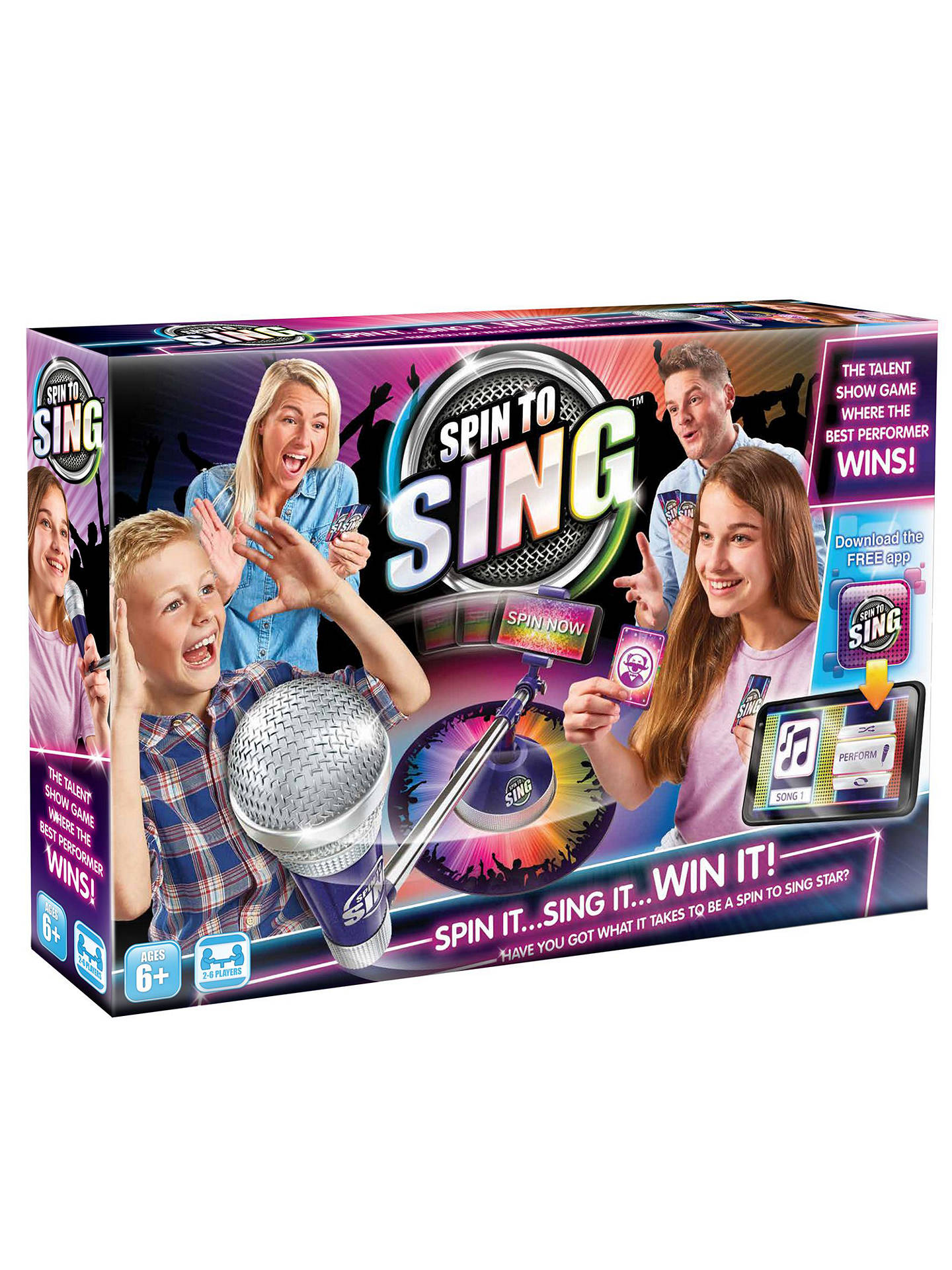 BuySpin to Sing Game Online at johnlewis.com