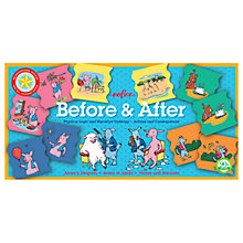 Buy Eeboo Before And After Puzzle Game Online at johnlewis.com