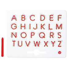 Buy A-Z Magnatabs, Upper Case Online at johnlewis.com