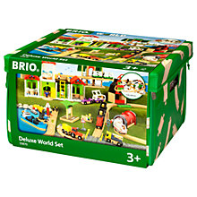 Buy Brio Deluxe World Playset Online at johnlewis.com
